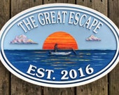 Beach House Signs, Custom Signs, Misc. Signs, Personalized House Signs, Lake House Sign