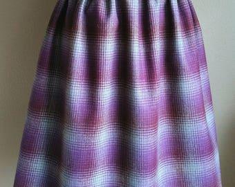 Paperbag  Wool Skirt