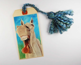 Laughing Horse Bookmark