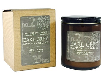 Man's Collection:             No. 2 - EARL GREY           Black Tea + Bergamot