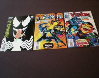 Venom 1, 2, 3, The Enemy Within, (1994), Marvel Comics TW
