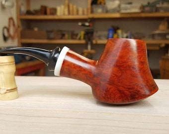 Handmade volcano tobacco pipe smoking pipe Davis Pipe