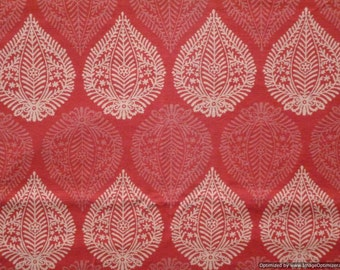 Indian Cotton Fabric Supplies for Craft Hand printed Fabric