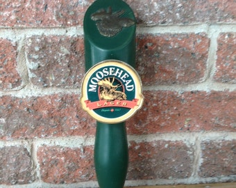 Beer Tap, Beer Tap Handles, MooseHead, MooseHead Lager, Collectiable Beer Tap, vintage Beer Tap, Barware, Beer, Canadian Beer Tap Handle,