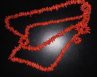 Fabulous Vintage Coral Necklace