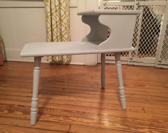 """Shabby Chic """"Antique Grey"""" Table"""