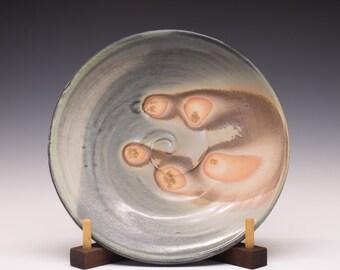 Wood Fired Porcelain Dinner Plate, 0532008