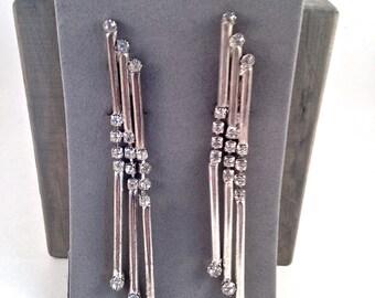 1930s Art Deco Clip  Earrings...SAVED FOR INGRID