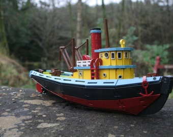 Model Tug Boat Kit