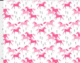 Pretty Horses Baby Bedding, horse baby bedding, horse crib sheet, horse crib skirt, equestrian, pony bedding, baby girl pony bedding, pony