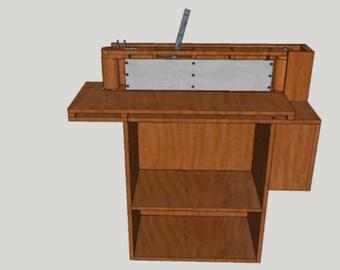 Edge Sander - Digital Plans Download Wood Made