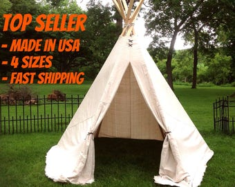 Teepee 8 1/2ft XL, 6ft Large, 4 1/2ft Medium/Slim