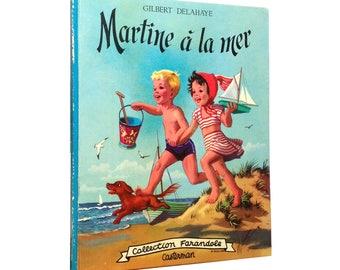 "Vintage book ""Martine à la mer"""