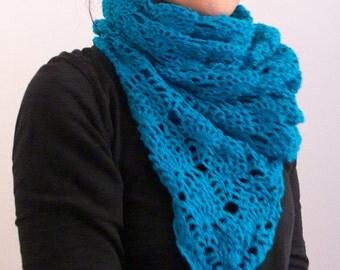 Shawl, crocheted shawl, crocheted scarf, wool scarf, shawls and scarves, triangle scarf, warm shawl, woman scarf, cheich, bright color shawl