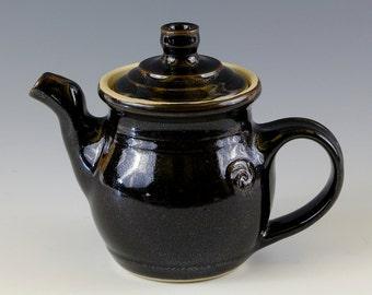 Teapot in Tenmoku