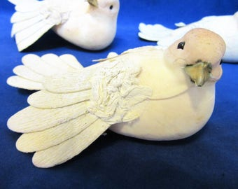 Birds Crafting Supplies Set of 3 decorations Home Decor