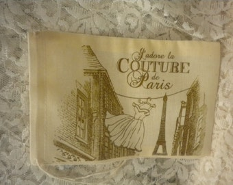 Very French Party Favor Muslin Bag (4)