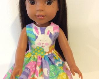 """14.5"""" Glittery Easter Dress"""