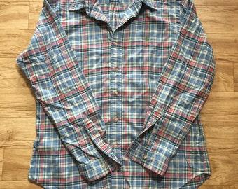 Vintage 90s Ralph Lauren Plaid Buttonup Shirt