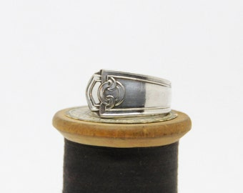 celtic ring, spoon ring, irish ring, gaelic ring