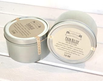 Natural Arthritis Relief, Solid Lotion Bars, Natural Beeswax Lotion, Solid Lotion, Herbal Lotion, Wax Moisturizer, Solid Bath Lotion