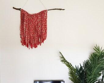 Handmade Boho Wall Hanging
