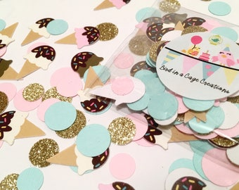 Ice Cream Party Confetti