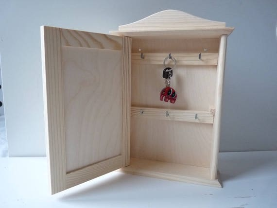wooden key box diy key cabinet bar cabinet