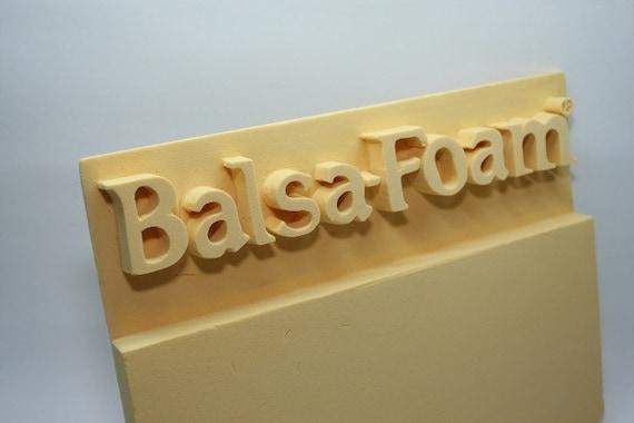 Balsa foam from sandraleesells on etsy studio