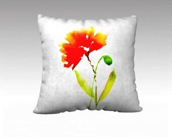 Poppy & Bud pillow
