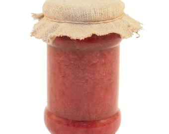 Honey with Raspberries