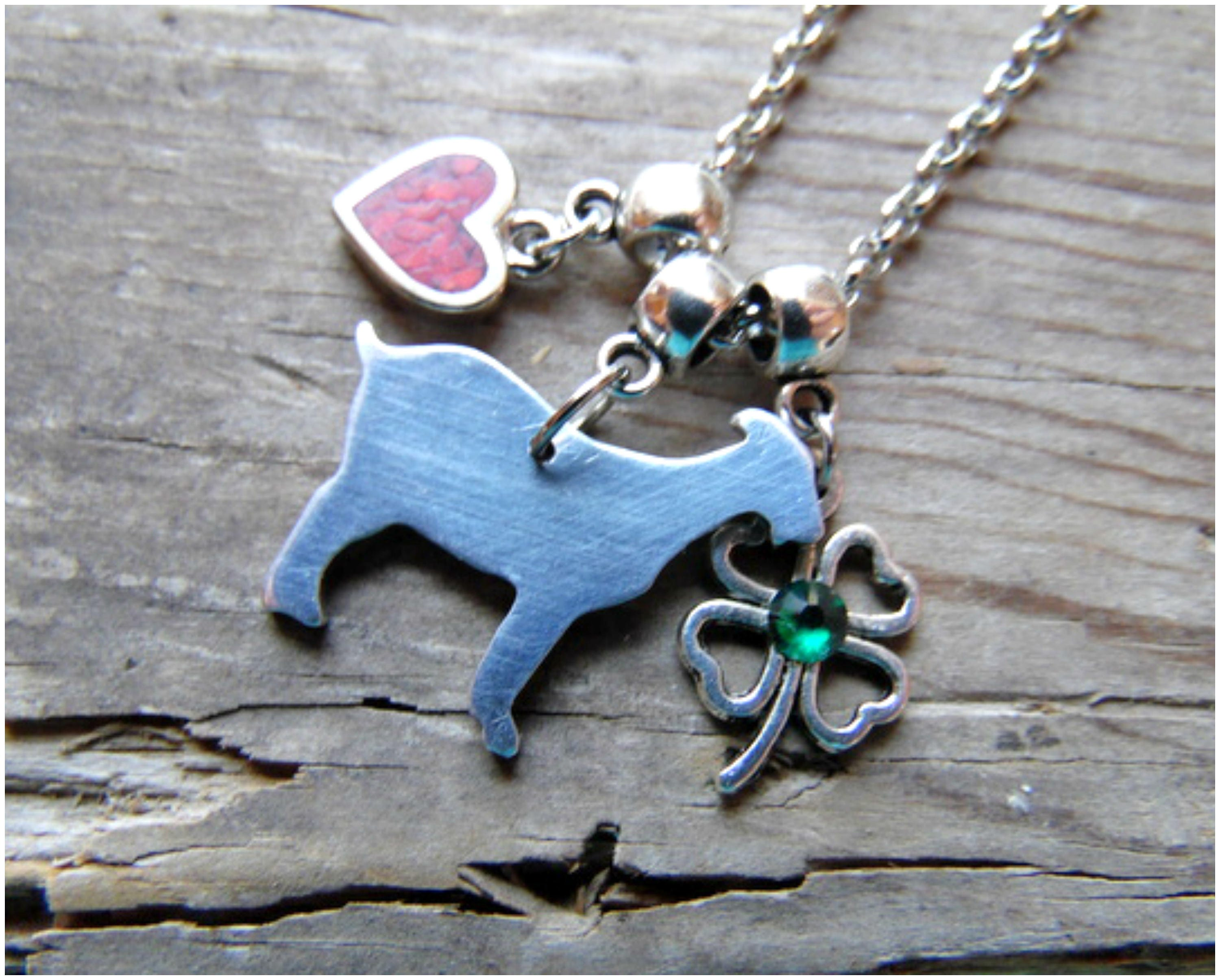 christy products necklace vegan robinson closet recycled goat designs by bunny compassionate mini pendant aluminum
