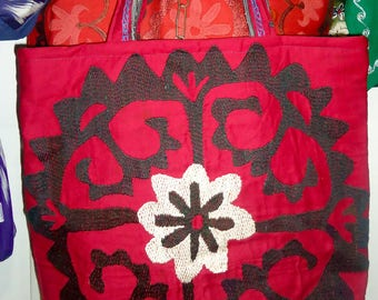 Red Messengers Bag