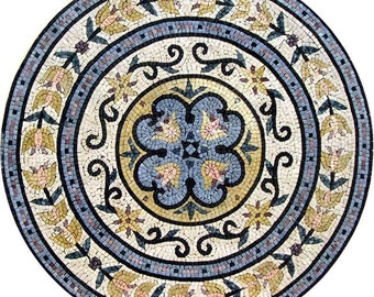 Flower Mosaic Rondure - Kimbra
