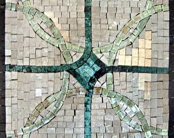 Stone Mosaic - Green Jada