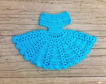 Crochet Applique Ladies Dress Romantic Theme Scrapbooking Card Making Embellishments