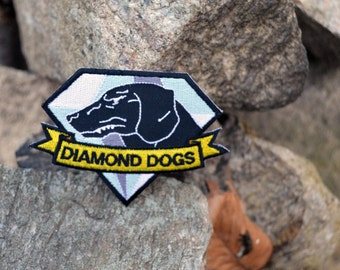 Diamond Dogs Metal Gear Solid Iron on Patch Metal Gear Solid V: The Phantom Pain Cosplay