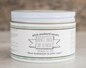 White Wax-Miss Mustard Seed's Milk Paint