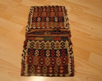 Antique Nomad bag Heybe Kilim Kilim 55 x 30