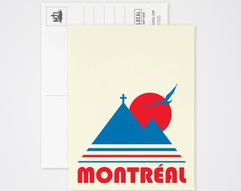 Montreal Vintage Post Card