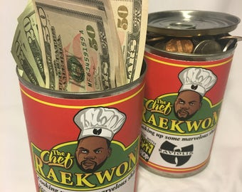 Wu-Tang Clan RaeKwon the Chef Hip Hop Pop Art Stash Can