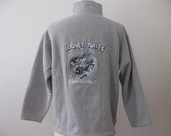 Vintage Looney Tunes Warner Bros Sweatshirt Adult Large