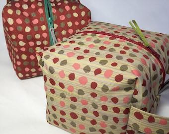I Love Dots Cube Project Bags