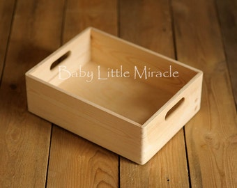 Newborn Drawer, 15,5 x 12 x 5 inch, Wood case, Look New, Newborn Photography, Wooden box, Newborn case,  Newborn Photo Prop, Photography