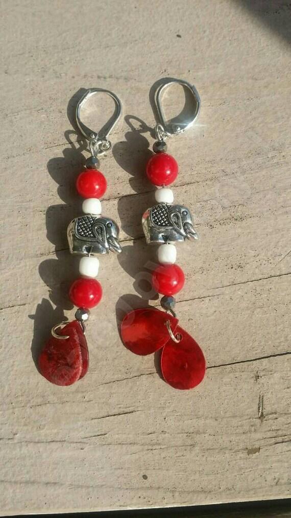 Delta sigma theta sorority inspired jewelry dst jewelry red for Delta sigma theta jewelry