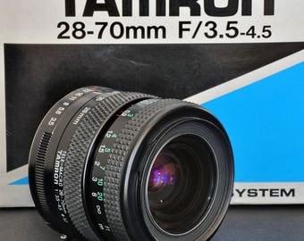 Tamron 28-70mm f/3.5-4.5 Standard Zoom Lens 4 Pentax Canon Nikon Olympus Minolta IOB MiNTY !
