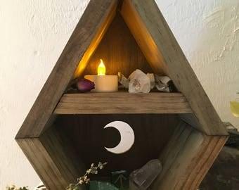 Spirithouse Moon Shelf