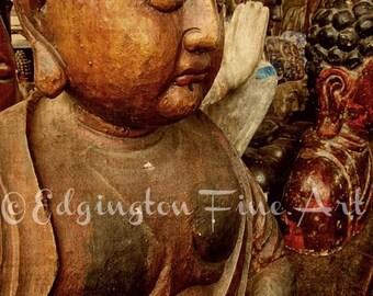 Buddah photo, buddah, home decor, brown budda photo, wood, budda, buddah art, zen, minimalist decor, rustic decor, minimalism, zen art
