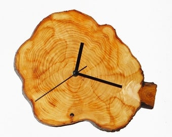 Clock, rustic clock, wall clock, eco friendly clock, wooden clock, wood clock (45)
