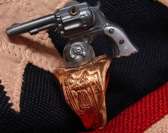 1948 Lone Ranger Gun Ring - The Lone Ranger Vintage Ring - Revolver With Pearl Grips